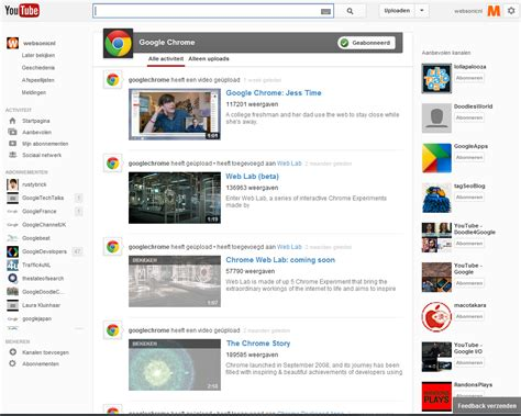youtube layout messed up firefox youtube test een nieuwe layout websonic