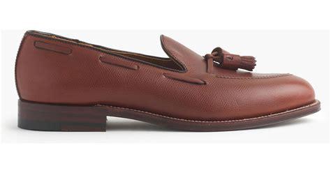alden tassel loafer alden tassel loafers in brown for lyst