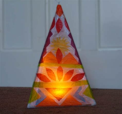 How To Make A Diwali L With Paper - 17 best images about willow lanterns on diwali