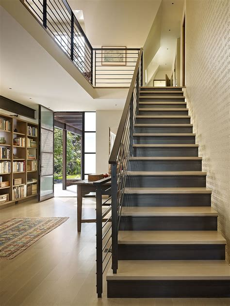 house stairs design pictures shelter for books elegant book house redesigned by deforest architects freshome com