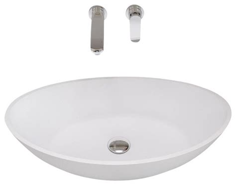 resin sinks bathrooms adm white countertop solid surface stone resin sink matte