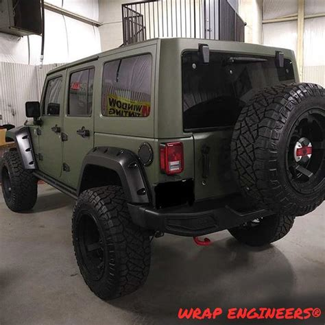 matte lime green jeep customjeep archives vinyl wrap 3m avery dennison