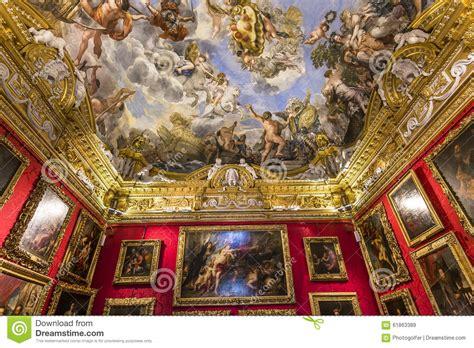 palazzo pitti interno interni di palazzo pitti firenze italia immagine stock