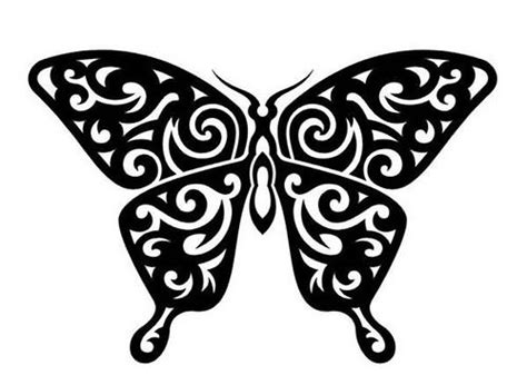 butterfly tattoo designs black and white black and white butterfly