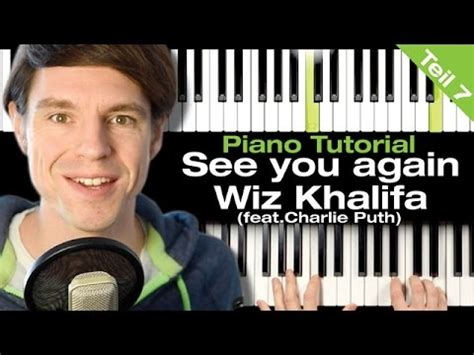 tutorial piano see you again see you again wiz khalifa feat charlie puth piano