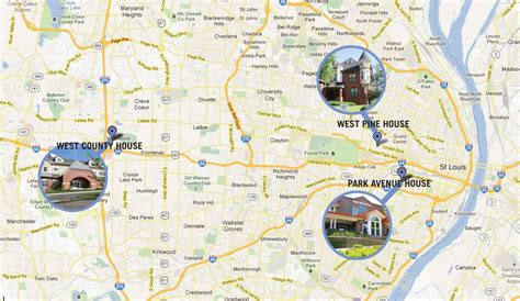 ronald mcdonald house st louis mo maps and directions ronald mcdonald house charities of st louis