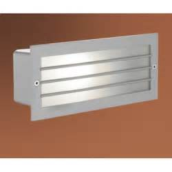 Outdoor Recessed Wall Lights Eglo Eglo 88576 Zimba 1 Light Outdoor Recessed Wall Light Silver Finish Ip44 Eglo From