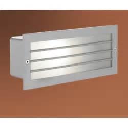 Outdoor Recessed Wall Lighting Eglo Eglo 88576 Zimba 1 Light Outdoor Recessed Wall Light Silver Finish Ip44 Eglo From