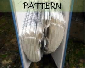 Book folding book folding patterns and footprint on pinterest