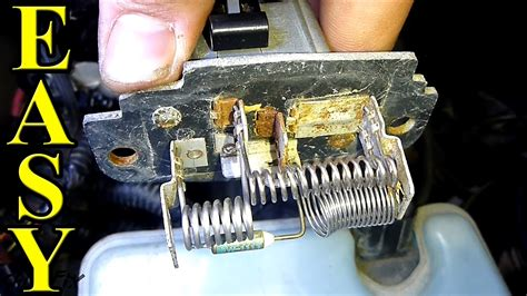 what does an ionizer fan do how to replace a blower motor resistor