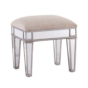 Mirrored Vanity Stool by Accent Vanity Stools Joss