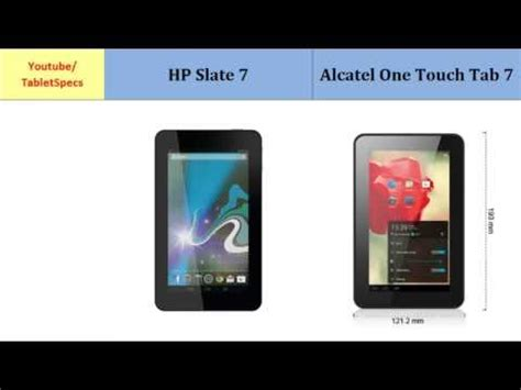 Hp Alcatel One Touch Magic alcatel onetouch tab 8 hd