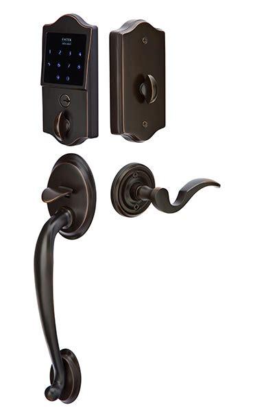 emtek door hardware emtek electronic classic style keypad handleset lock