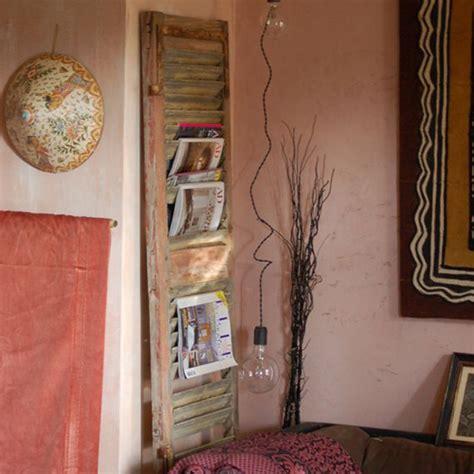 Tête De Lit Récup 3121 by Beau Decoration Interieur Avec Vieux Volets Bois