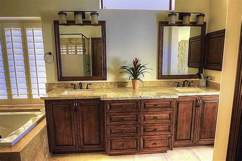how to redo bathroom cabinets 187 bathroom remodeling gallerykitchen and bathroom design and remodeling in phoenix