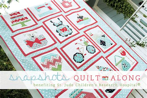 Snapshot Quilt Pattern by Snapshots Quilt Along Mini Quilt Out Of The Blue Quilts