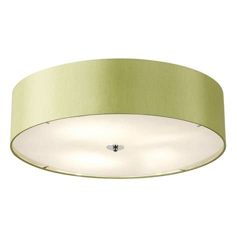 Endon Ceiling Lights Endon Lighting Franco Franco 60gr Green Semi Flush Ceiling Light