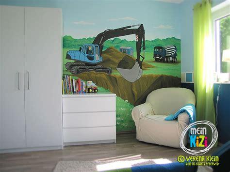 kinderzimmer traktor baustellenzimmer meintraumhaus