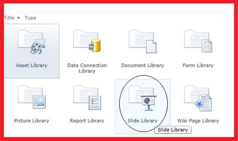 Amol Ghuge S Sharepoint Blog 2014 04 27 Sharepoint 2010 Slide Library