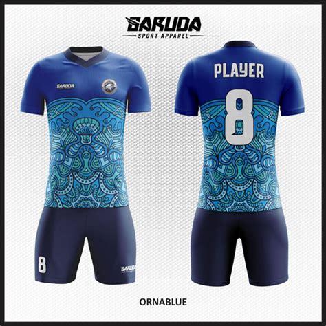 Baju Sepakbolafutsal Printing 03 desain baju futsal warna biru sebagai seragam untuk tim anda garuda print