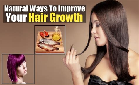 ways to promote hair growth how to improve hair