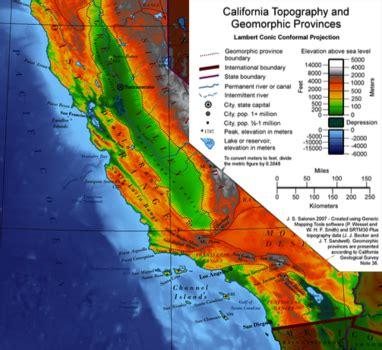 california map elevation elevation california map dr melanie patton renfrew s