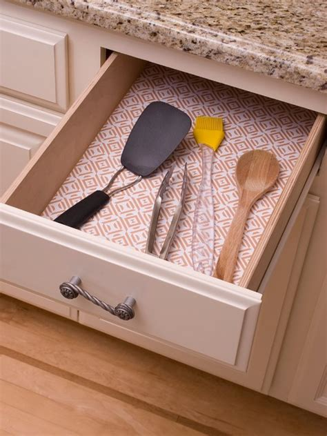 Kitchen Liners For Drawers by Decorative Shelf Liners Drawer Shelf