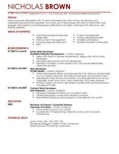 Content Developer Sle Resume by Cv Sles