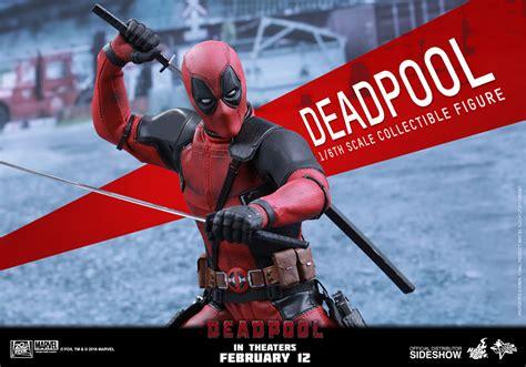 Exclusive Custom Deadpool 2 Terlaris marvel deadpool sixth scale figure by toys sideshow