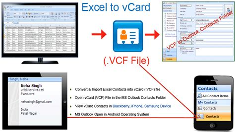 format vcard excel exceltovcard s diary