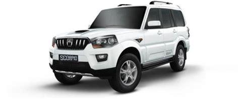 mahindra scorpio fuel economy mahindra scorpio price check november offers review