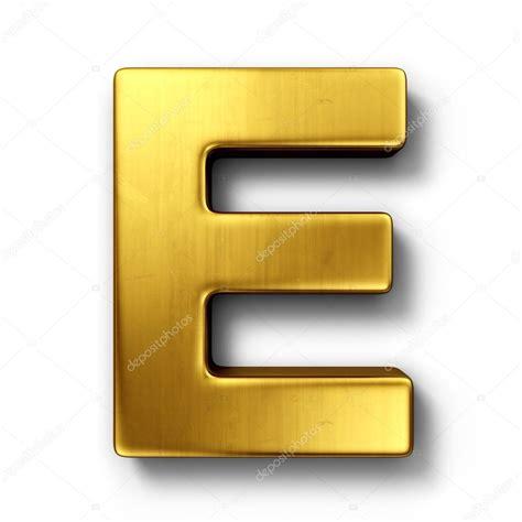 e i the letter e in gold stock photo 169 zentilia 8292944