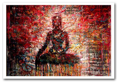 Online Shopping For Wall Stickers 29 tashi norbu meditation ethnic framed art giclee art print