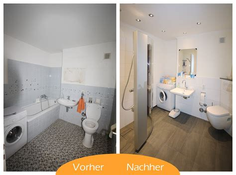 bad renovieren vorher nachher badezimmer vorher nachher