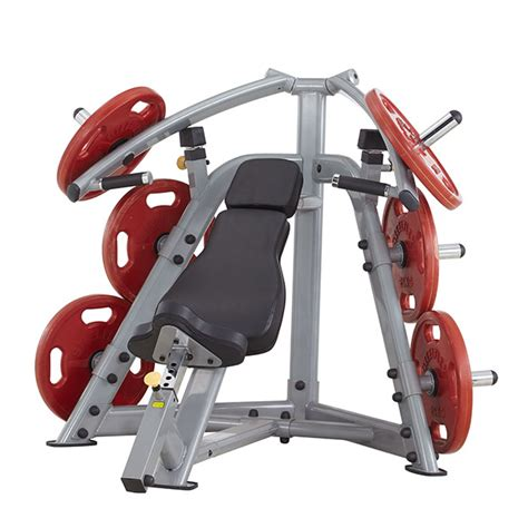 lever bench press machine steelflex plip1400 leverage incline bench press machine