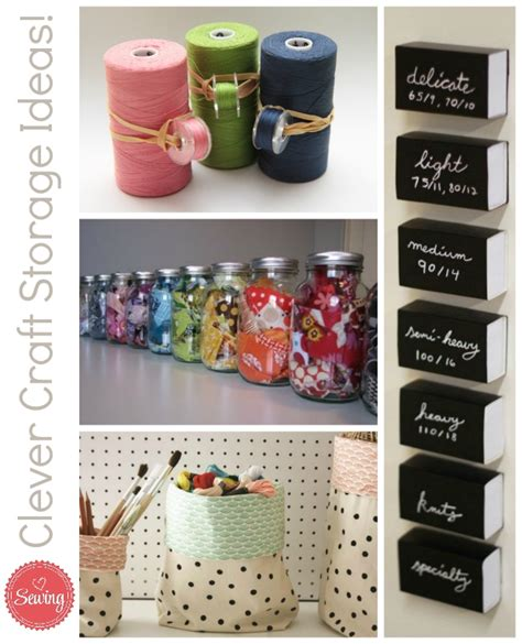 187 clever sewing room storage ideas