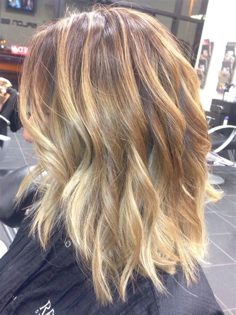 Light Brown Balayage by Light Brown Base With Balayage Highlights Yelp