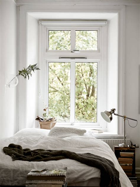 one window bedroom decordots cosy vibes in a small scandinavian style apartment