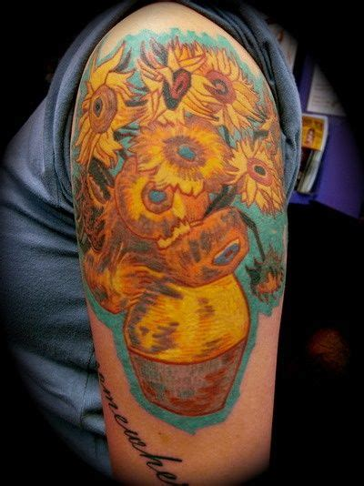van gogh sunflower tattoo 270 best images about tattoos on ink arrow