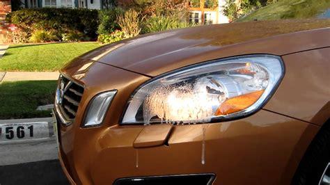 volvo  headlight washers youtube