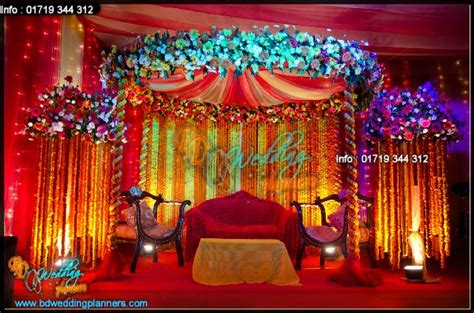 How To Decorate A Temple At Home holud stage decor bd event management amp wedding planners
