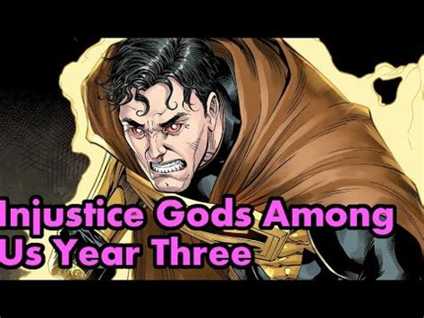 injustice gods among us year two the complete collection injustice gods among us year three complete story