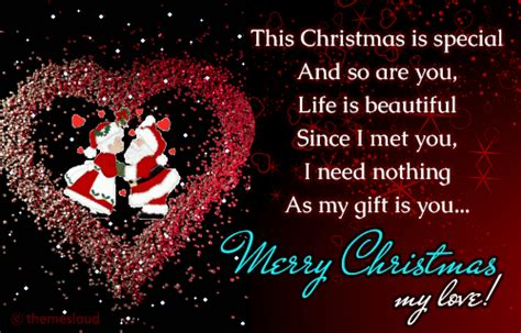 christmas kisses   special   love ecards greeting cards