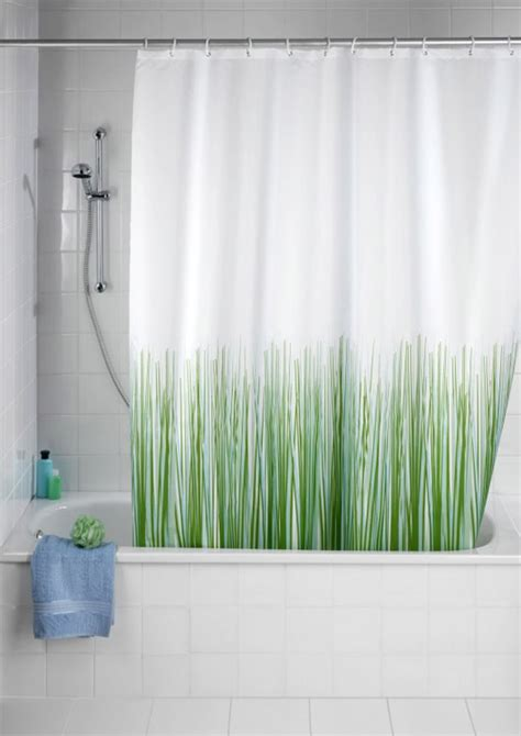 uk shower curtain wenko nature anti mold anti bacterial polyester shower
