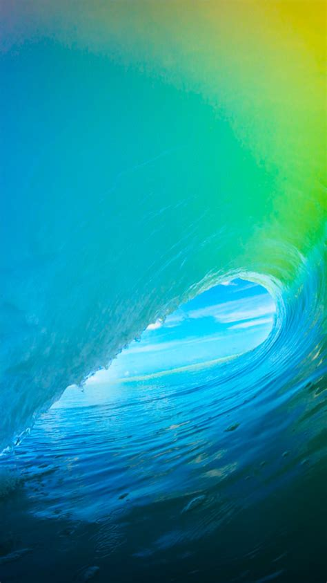 wallpaper apple wave the new ios 9 wallpaper for iphone