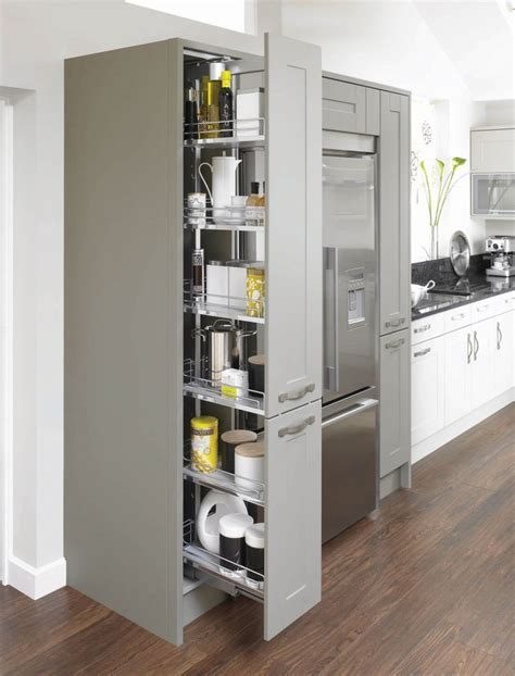 Pull Out Pantry Unit by Best 25 Kitchen Larder Units Ideas On Kitchen