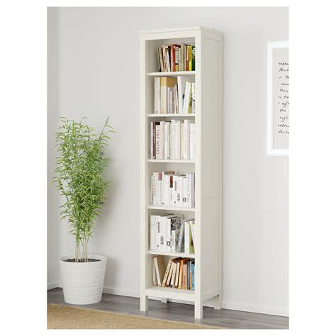 Hemnes Shelf White by Hemnes Bookcase White Stain 49x197 Cm