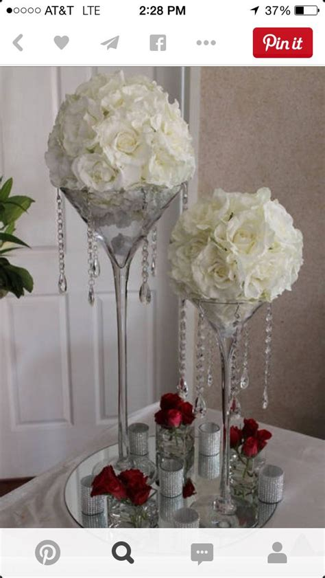 Pinterest The World S Catalog Of Ideas Chagne Glass Centerpiece