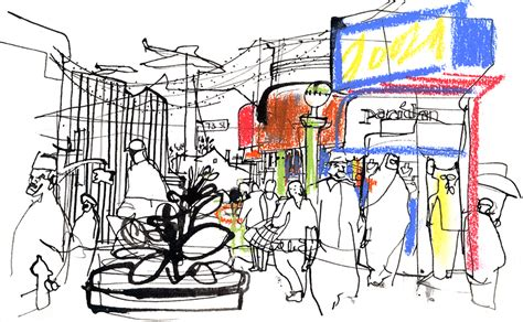 sketchbook usa jackson heights new york city usa sketchers