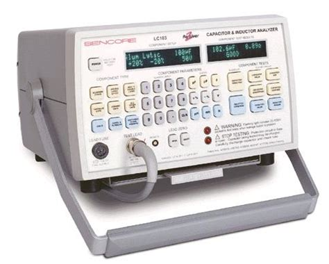 capacitor inductor analyzer methods to test capacitor esr capacitors testing is the most reliable